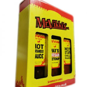mr vikkis hot sauce selection gift set
