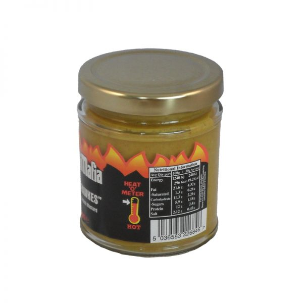 hot english mustard