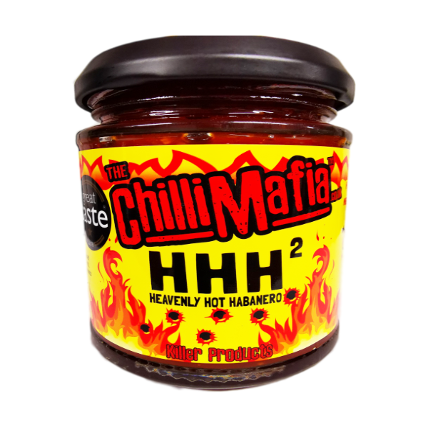 chilli mafia heavenly hot habanero chutney