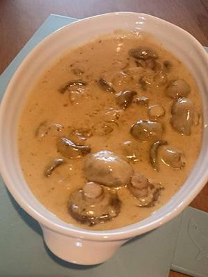 mr vikkis easy garlic mushrooms