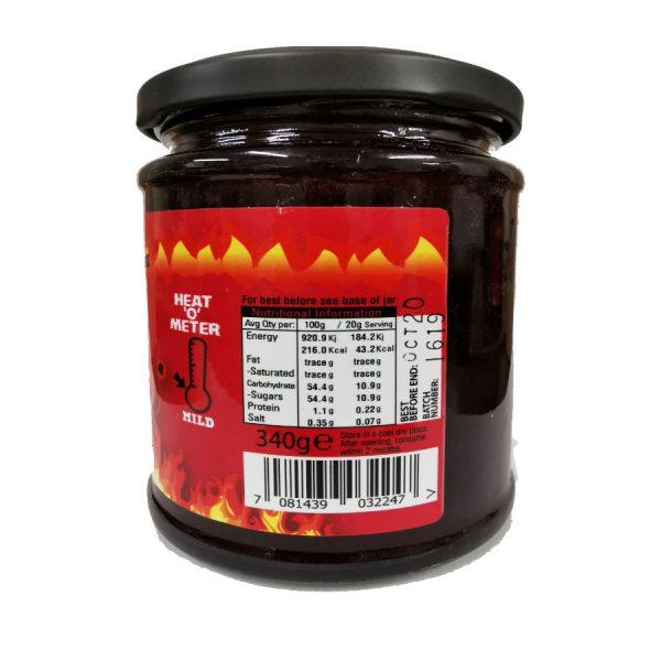 damson naga chilli jam