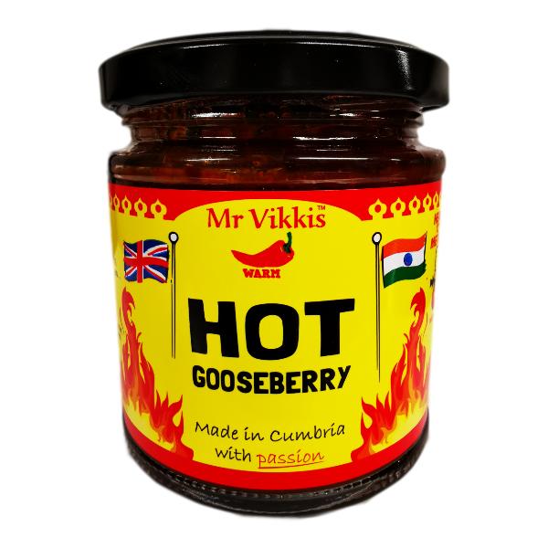 hot gooseberry chutney